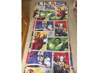 Marvel avengers single duvet cover and pillowcase