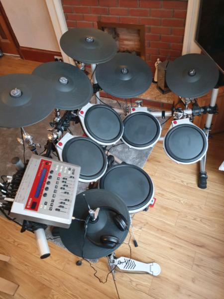 Yamaha DTXtreme IIs electric drum kit. , used for sale  Girvan, South Ayrshire