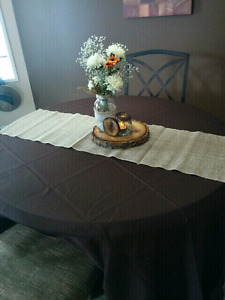 Chocolate Brown Tableclothes