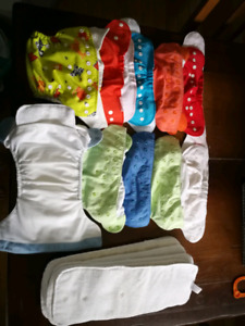Cloth pocket diapers