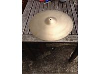 "Zildjian 20"" medium/thin ride 60s"