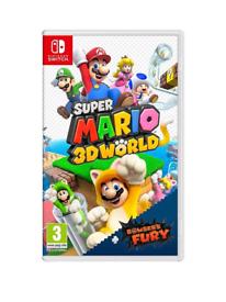 Super Mario 3d world + Bowsers fury BNIB Switch