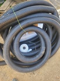 Perferated Landdrain 100mm (24m approximately) with geotextile sock
