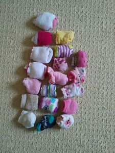 Girls Socks - 3-12 months