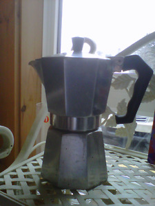 A MANLY COFFEE POT