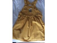 John Lewis pinafore dress age 18-24 months