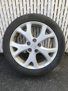 Mags et pneus d'été pour Mazda 3 2007