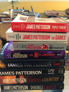 James Patterson 12 Hardcover and 3 Softcover Value $425