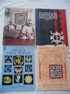 quilt books - 6 for $20 - 11 for $30
