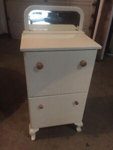 vintage wash stand cabinet