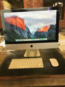 iMac 21.5 inch, Late 2015 2.8 GHz i5 16 GB Memory