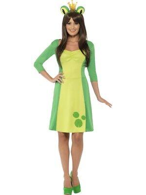 Frosch Kostüme (Froschkleid Frosch Kostüm Kleid 2-teilig Damen)