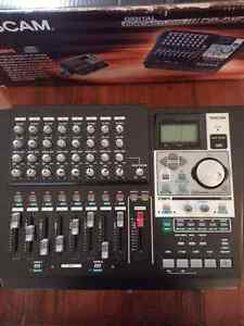 Tascam DP-01FX/CD multi-track digital portastudio