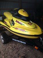 Looking for Seadoo double trailer/trade for single