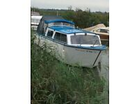 Broads Cruiser/ boat 27ft Dawncraft