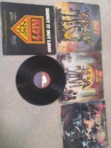 Kiss lp records