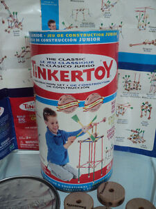 2 VINTAGE HASBRO THE CLASSIC TINKERTOY CONSTRUCTION SETS Cornwall Ontario image 9