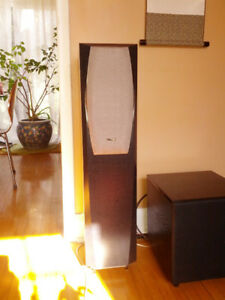 Infinity Interlude IL30 speakers 2 way, biwireable, superb sound