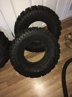 brand new tires 4 sale 4 snow and front tires