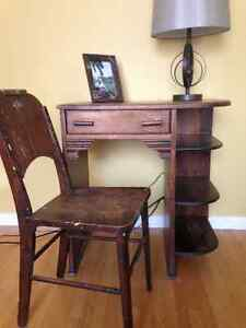 Furniture, antiques, baseball cards and art!
