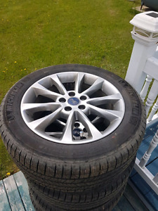 Tire et mags  Michelin 235/50R17