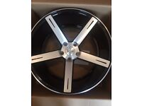 """set of brand new 20"""" alloy wheel in the box I want £550 or the nearest offer"""