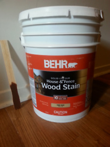 BEHR Solid colour House & Fence wood stain / Teinture pour bois