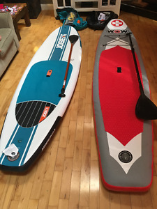 "2 Paddle Boards (126"" & 118"") - Never been used!"