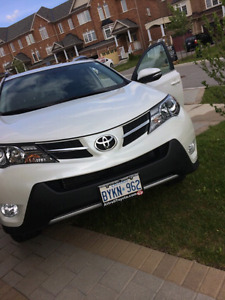 Take over my PEARL WHITE 2015 Rav4 Limited Edition