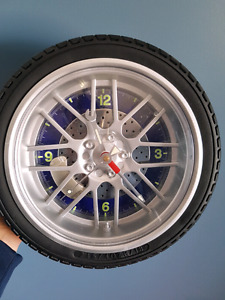 Clock in a mini tire