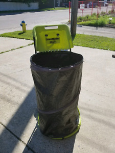 Lawn bag and stand