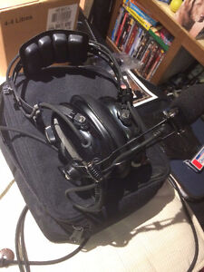 ASA Aviation Headset with case