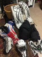 Hockey / GOALIE Equipment for SALE