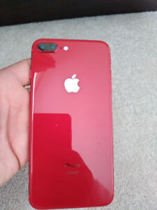 iPhone 8 Plus, Product Red, New Condition.