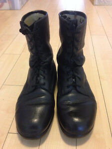 WOW! Canadian Army Leather Boots