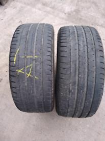 2253519 225 35 19 Pirelli p zero matching pair partworn tyres for sale