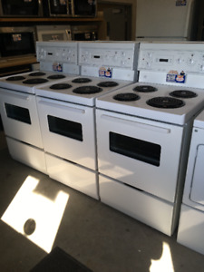 "USED 24 "" APARTMENT SIZE RANGES -  LIKE NEW"