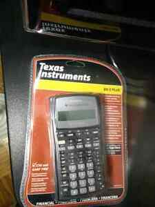 Texas Instruments TI-BA ii Plus, Financial Calculator, New.