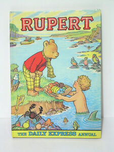 Vintage - Rupert The Daily Express Annuals $10—$45