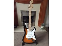 Fender squire electric guitar and amp like new!
