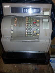 vintage cash register from the 1960's