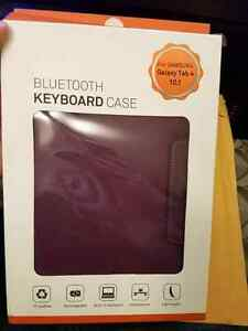 Galaxy tab 4 10 inch case with keyboard plus screen protector  Cambridge Kitchener Area image 3