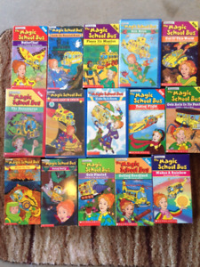 Magic School Bus VHS tapes