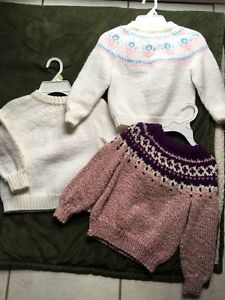 Childs figure skating sweaters