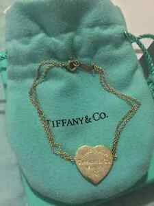 Authentic Tiffany & Co. Return to Tiffany Heart Tag Bracelet