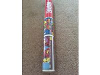 Brand new sealed roll of marvel action heroes wallpaper