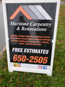 MARITIME CARPENTRY & RENOVATION'S