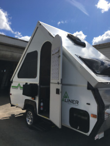 Aliner pop up camping trailer