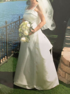 Wedding Gown - Maggie Sorterro - $300 or best offer