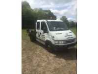 Iveco twin can tipper